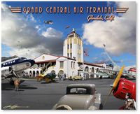 Grand Central Air Terminal by Larry Grossman