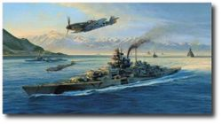 Knights Move by Robert Taylor (Me109, Tirpitz)