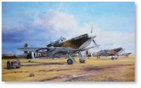 Eagle Squadron Scramble by Robert Taylor (Spitfire)