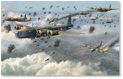 Stirlings - No. 15 Squadron by Jim Laurier