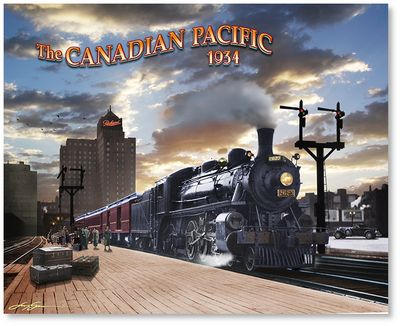 Canadian Pacific by Larry Grossman
