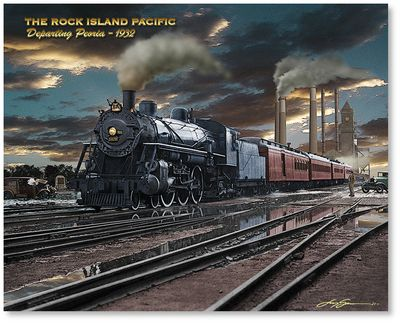 The Rock Island Pacific by Larry Grossman