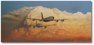 Chasing Good Weather by Darby Perrin (KC-135, KC-46)