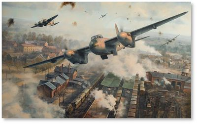 Raiding the Reich by Anthony Saunders