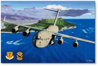 Spirit of Daniel Inouye by David Mueller (C-17 Globemaster III)