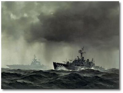 Sudden Squall by R.G. Smith