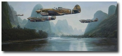 Summer of '42 by John Shaw (P-40 Warhawk)