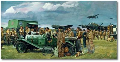 The Bomber Boys by James Dietz (Lancaster)