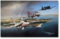 Thunder Over the Patuxent by John Shaw