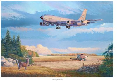 Working the Field by Rick Herter (KC-135R)