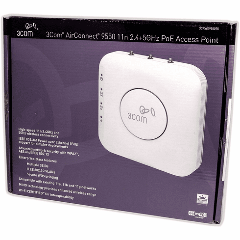 3Com AirConnect PoE Wireless Access Point 3CRWE955075