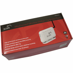 3Com OfficeConnect Wireless 54Mbps 11g New 3CRWE454G75 NO Power Adpater Included