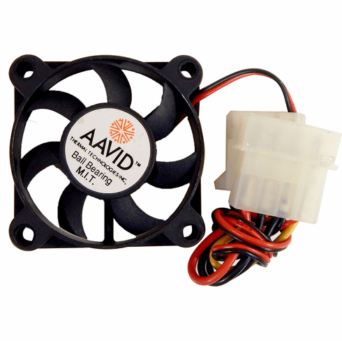AAVID 12v DC 0.11a 3Wire 50x10mm FAN 1450222