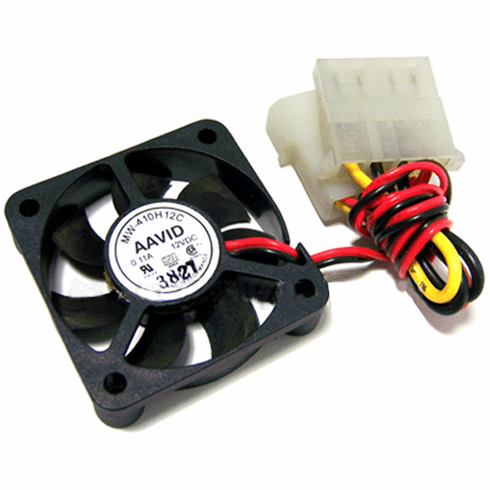 AAVID 40x10mm 0.11a DC 12v 2-Wire 2x4-Pin-M-F Molex FAN Power Connector MW-410H12C