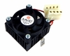 AAVID Socket-7 RMAL Heatsink-Fan Assy 610-00042 Molex Power Connector