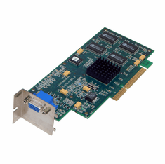 AccelGraphic AccelStarII NLX 8MB AGP Video 225-0132-01 NLX Bracket
