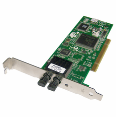 Allied Telesis 100BFx PCI Network Card AT-2701FX-ST Standard Bracket Adapter