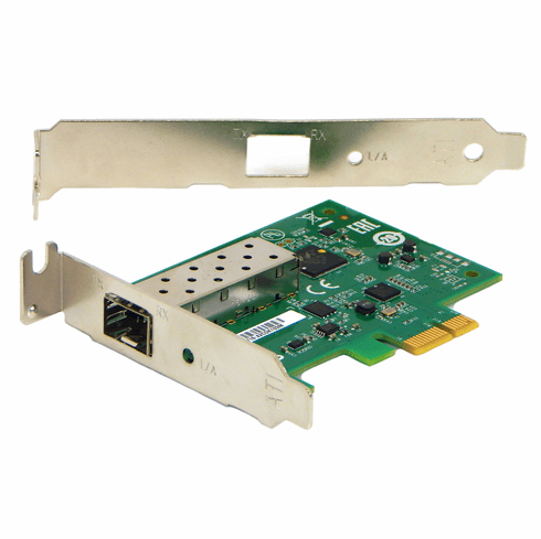 Allied Telesis Gigabit PCIe 1x  Adapter  AT-2914SP-901 Standard and LP Bracket