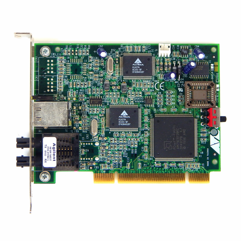Allied Telesyn NIC PCI Wide Card  AT-2700FTX-ST-W 845-04313 Rev A