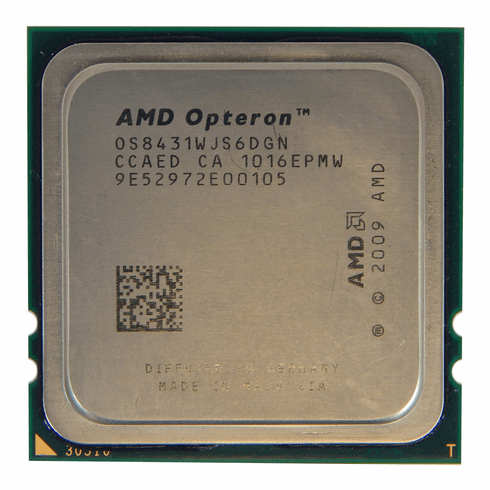 AMD Opteron 8431 2.4Ghz 6-Core CPU OS8431WJS6DGN Socket Fr6 (1207)