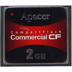 Apacer 2GB CompactFlash Commercial CF 81-2H010-4B12C