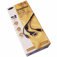 Belkin OmniView 6ft Gold PS2 KVM Cable New F3X1835-06-GLD