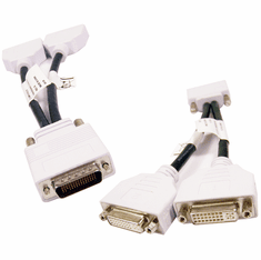 Compupack DMS-59-M to 2-DVI Cable 6502A002-10-002-RS1 1xLFH to 2xDVI-I Splitter