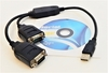 CoolGear USBG-232-P2X USB to 2Serial Adapter 396867-001 Compatible Win10