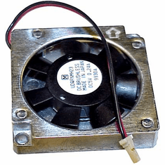 DC 5v DC 0.24a 38x6mm 2-Wire 2-Pin Fan UDQFNMH23 808-879746-001A Brushless