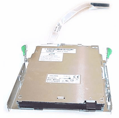 Dell 1.44MB 3.5in Bezeless Floppy Drive w cable  1W415 MPF820 with Bracket Assy