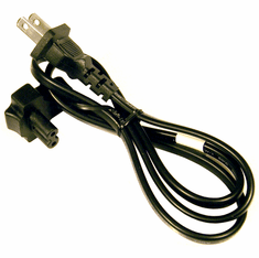 Dell 3FT 2-Prong Right Angle 2.5a Power Cord New DF771 125v ME301S-E62405SP Cable