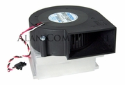 Dell Optiplex GX270 P4 Heatsink-Fan 9G180 D0079 w DB9733-12HBTL Blower Fan