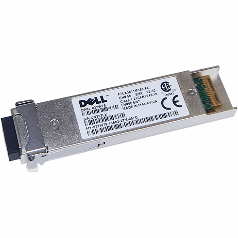Dell FTLX3811M350-FC CHAN50 10GGP-XFP-W50 XFP New 37W75
