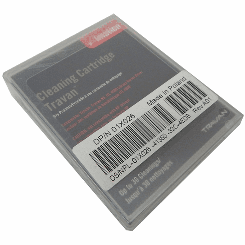 Dell Imation Travan TR5 TR40 Cleaning Cartridge 1x026