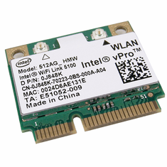Dell Intel 512AG-HMW Wifi 5100 Mini PCIe abg  J848K