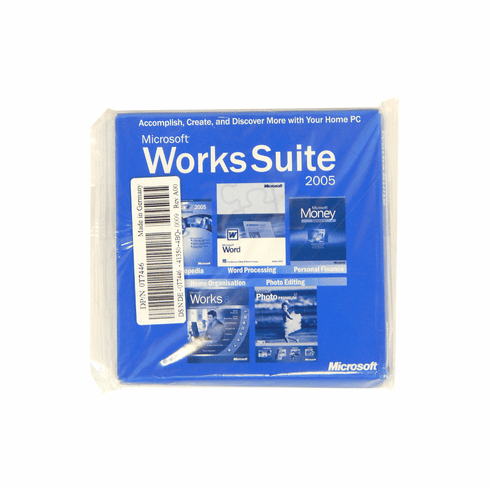 Dell Microsoft Works-Suite 2005 English Software T7446 X09-94093 - FS100017/OEM