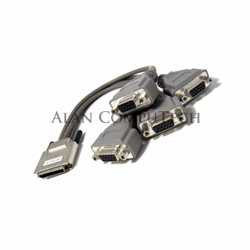 Dell MiniCentronic to 4-HD15 220-0248-001 Cable C9004