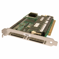 Dell PE1550 PERC3-DCL 64MB PCI RAID Controller 0C705 SCSI Dual-Channel  Card Assy