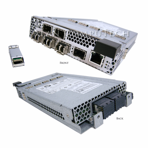 Dell PE1855 McDATA 4416 1955 FC 4GBPS Switch Module Includes 4GBIC- FTLF8524P2BN