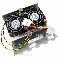 Dell PE6400 Fan Assembly PCI Slots Housing NEW 1F978 and Power Cable 2F223