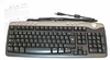 Dell French-Canadian Media USB Keyboard NEW 6W787 Black/Silver French/Canadian
