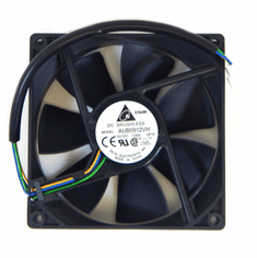 Delta 12V 0.60a 25x92mm 4Pin 4-Wire Fan AUB0912VH-SP16 DC Brushless