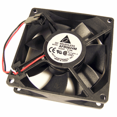 Delta 24v DC 0.10a 80x25mm 2-Wire Fan AFB0824M-CPC-2 2-Pin Brushless Cooling Fan