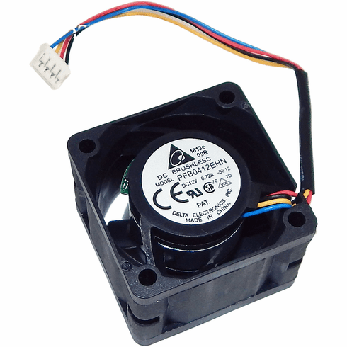 Delta 40x28mm 12vdc 0.72a 4-Wire Fan PFB0412EHN-SP12-5 Length Wire = 5 inches