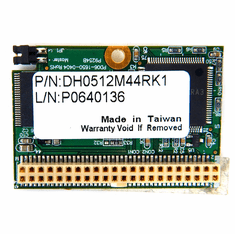 Disk On Module 512MB IDE 44P Flash Memory DH0512M44RK1 PD06-1650-0404 RoHS P9254B
