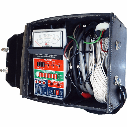 ECOs POW-R-Mate Model 1023 w Case/Adapter USED POW-R-MATE Volt Current Phase Wiring M