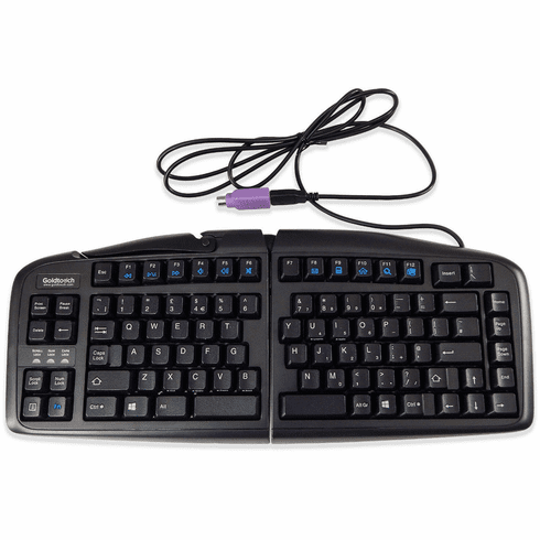 Goldtouch UK Ergo Keyboard United Kingdom New GTN-99UK USB and PS2