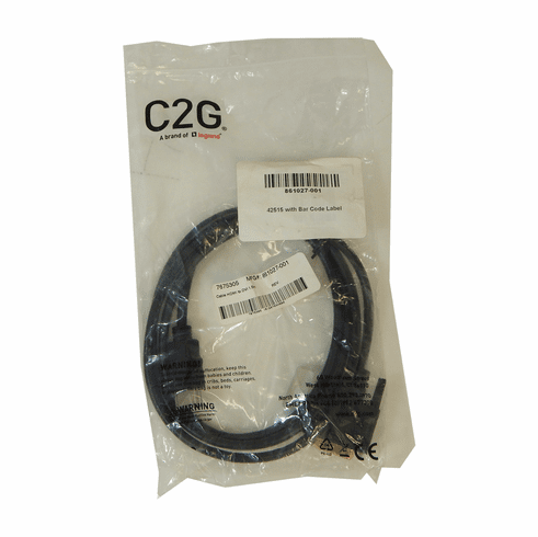 HP 1.5m HDMI to DVI Male Cable New 861027-001
