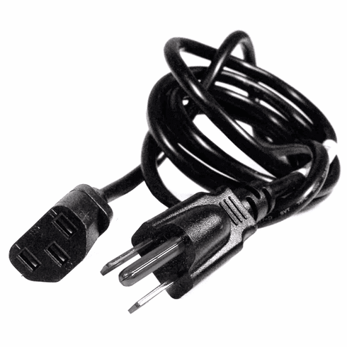 HP 10A 125V 6ft Black Power Cord NEW Bulk 453070800151R E301899 FF-01-w FM-008 Cable