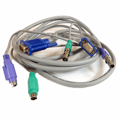 HP 12ft KVM PS2-VGA Server to Switch Cable 147095-001 319234-001 / 224386-003